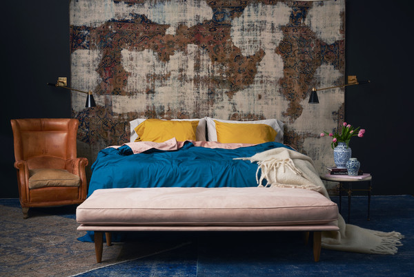 Capricorn: Flaneur Custom-Color Bedding