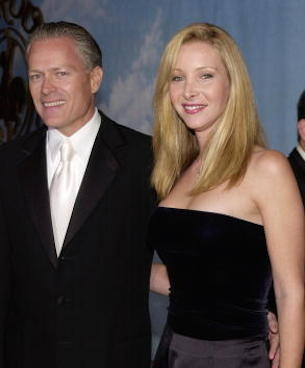Lisa Kudrow and Michael Stern Then
