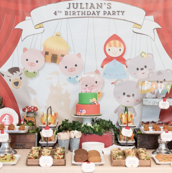 Magical Birthday - Fairytale Party Ideas That Will Transport You To ... 64cca503e