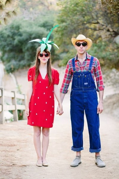 A Strawberry & Its Farmer