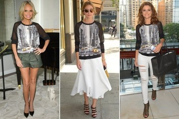 Who Wore It Better: Kristin Chenoweth, Olivia Palermo or Maria Menounos?