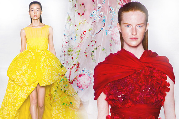 The Most Gorgeous Haute Couture Gowns for Fall 2013