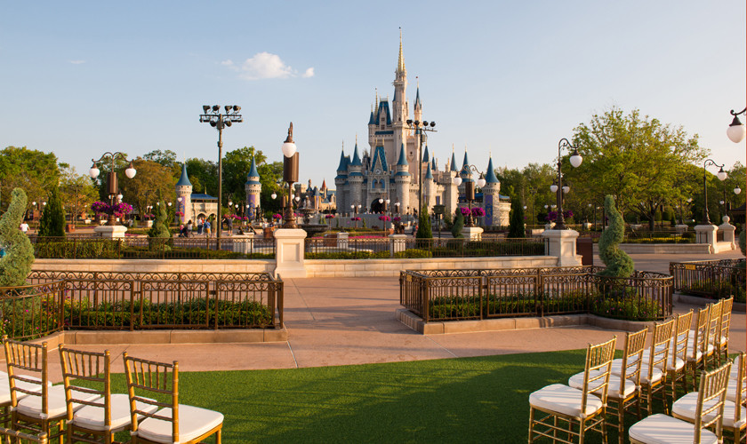 Would You Get Married in Front of Walt Disney World's Cinderella Castle?