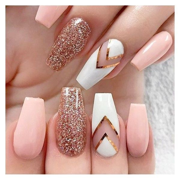 Rose Gold Accent Nail - 20 Rose Gold Beauty Ideas To Try This Spring ...