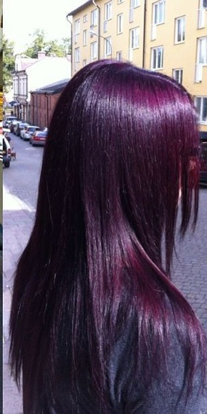 Deep Magenta Purple Hairstyles That Will Make You Want