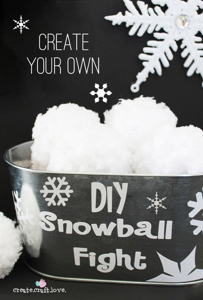 Have an old-fashioned snow ball fight