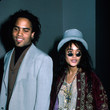 1987: Lenny Kravitz And Lisa Bonet