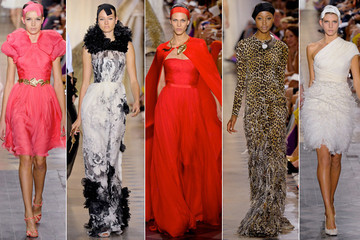The Power of Frivolity: Giambattista Valli's Fall 2011 Couture Debut