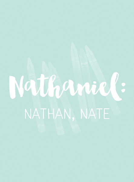 Nathaniel Baby Names With Awesome Nicknames Livingly