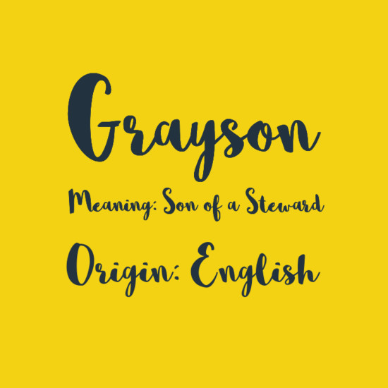 QueryTracker Blog: A Character By Any Other Name  |Grayson Name