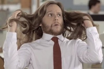 This Guy Got Hilarious Shampoo-Commercial Hair From Using Dove [VIDEO]