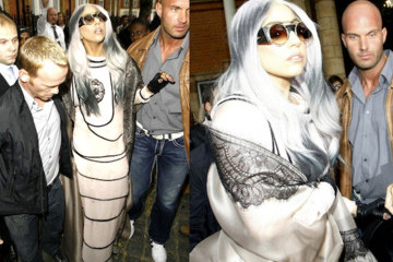 Lady Gaga's Latest Wig: Long, White, Gray and Dramatic