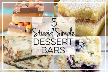 5 Stupid Simple Dessert Bars