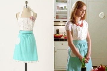 Jayma Mays' Darling Apron on 'Glee'
