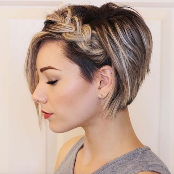 Braided Stacked Bob