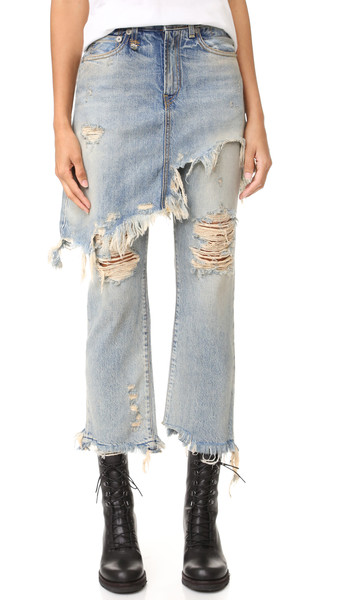 Skirted Jeans