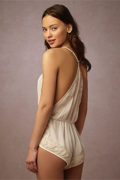 0b53d06a89b Alabaster Lace Romper - Sexy and Sweet Bridal Lingerie for Every ...
