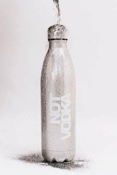 Capricorn: Not Vodka Re-Usable Water Bottle