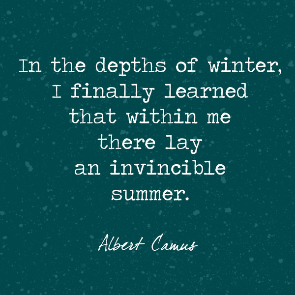 Beautiful and True Winter Quotes