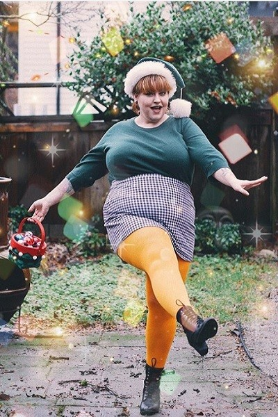 The 'Rule': Colored Tights Aren't Flattering