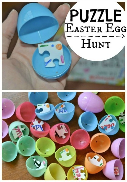Puzzle Easter Egg Hunt