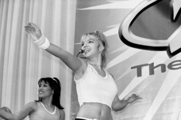 Rarely Seen Vintage Photos Of Britney Spears