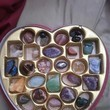 Make A Heart Shaped Box Filled With Crystals