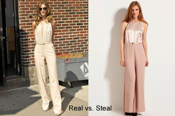 Real vs. Steal: Get Rosie Huntington-Whiteley's Glam '70s Look for Less