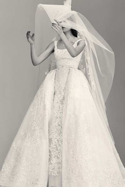 Elie Saab's Latest Wedding Dress Collection Is Made for a Princess Bride