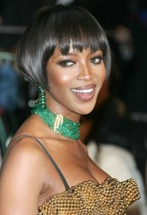 Short Wedding Hair Pictures - Naomi Campbell and Keira Knightley