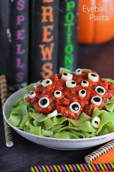 The Best Spooky Halloween Food on Pinterest