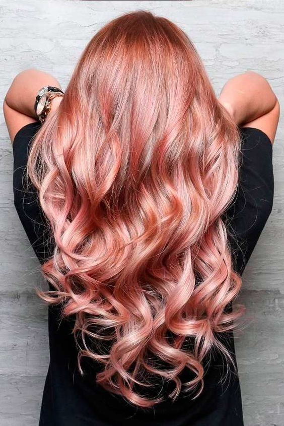 Dusky Rose - Rose Gold Hair Ideas That'll Have You Dye-Ing For This Magical Color - Livingly