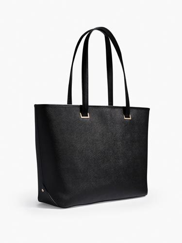 "Lo & Sons ""Seville Leather Laptop Tote"": Outside"