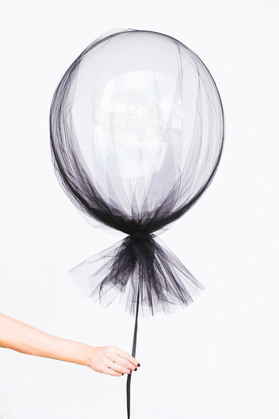 Tulle Covered Balloon