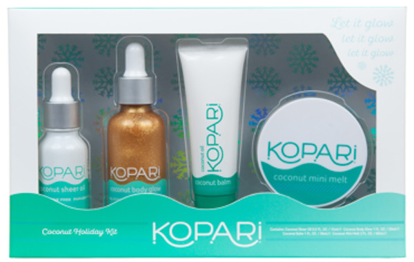 Kopari's Coconut Holiday Kit