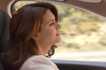 Here's Why That 'Drive Like a Boss' Lady Looks So Familiar