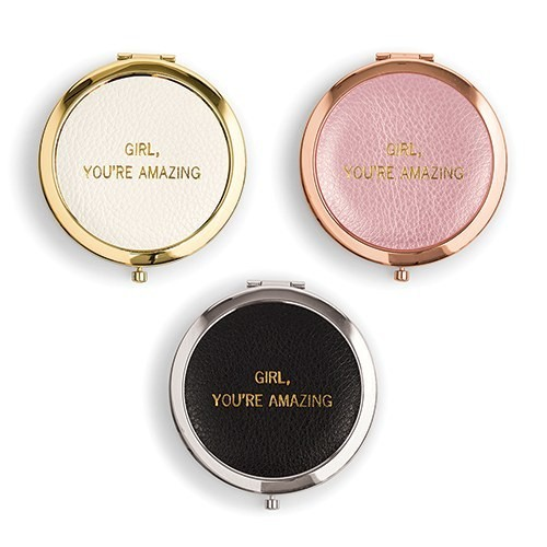 """""""Girl, You're Amazing"""" Compact Mirrors"""