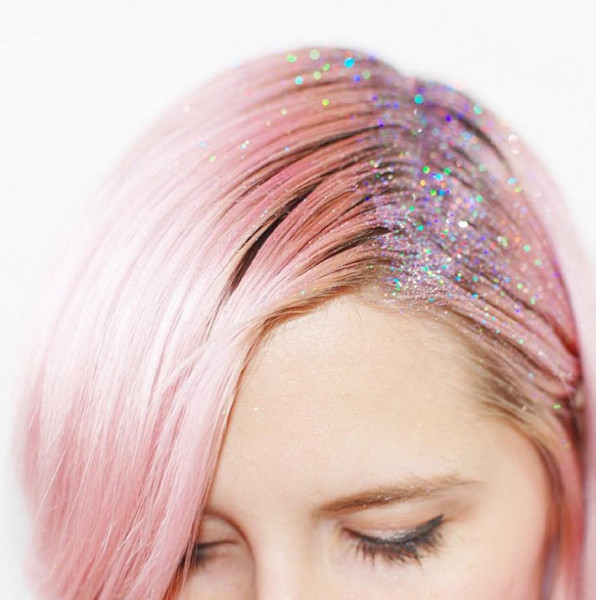 Trendy Glitter Roots (!)