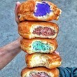 Ice Cream Filled Donuts
