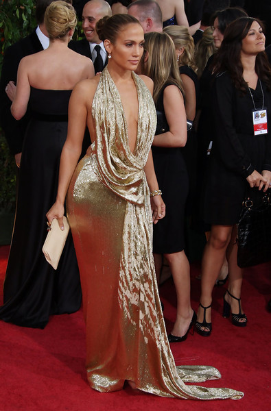 Jennifer Lopez in Marchesa at the 2009 Golden Globe Awards