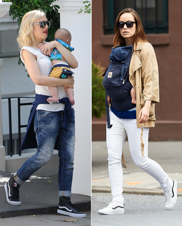 What Shoes Are Hollywood S Hottest Moms Wearing The