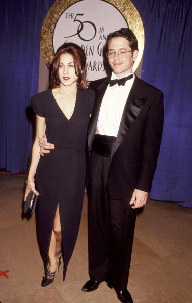 Sarah Jessica Parker and Matthew Broderick Then