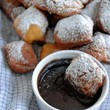 Beignets With Dark Chocolate Espresso Sauce