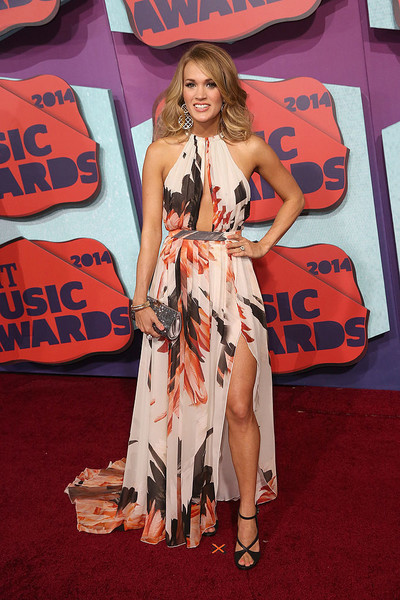 Carrie Underwood At The 2014 CMT Awards