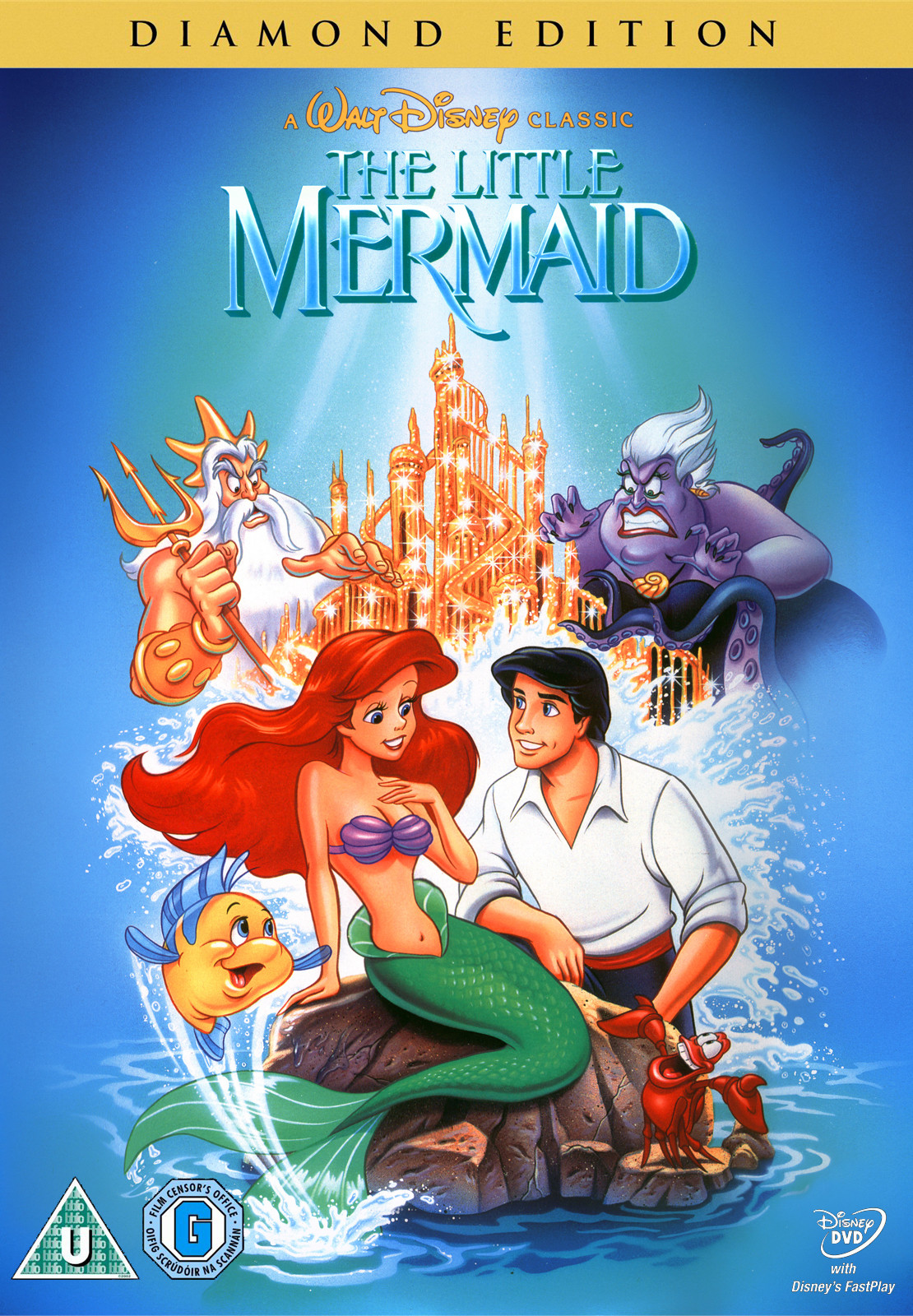 'The Little Mermaid' - Disney Princess Movies, Ranked From ...