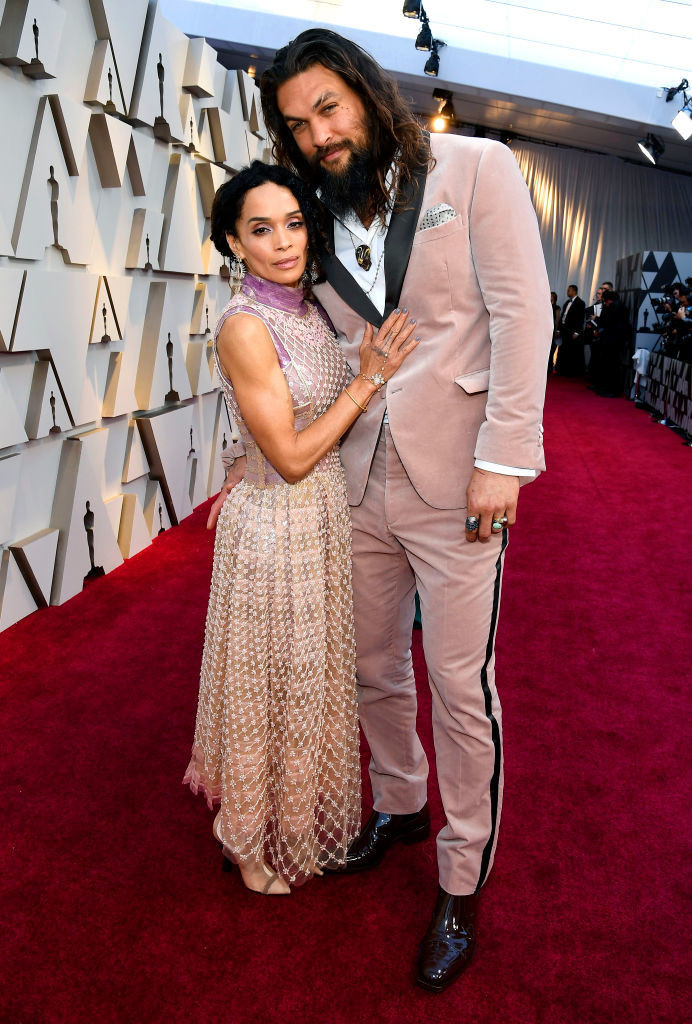 Lisa Bonet And Jason Momoa - Celebrity Couples with Extreme Height Differences - Livingly