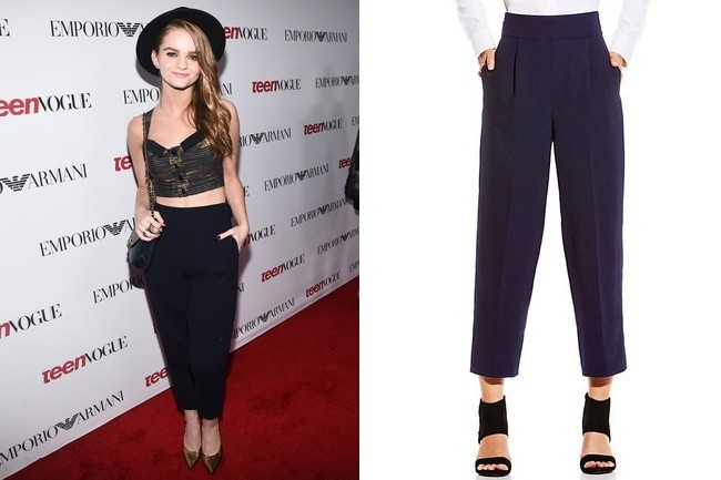 Found: Kerris Dorsey's Gaucho Pants - Celebrity Style - Livingly