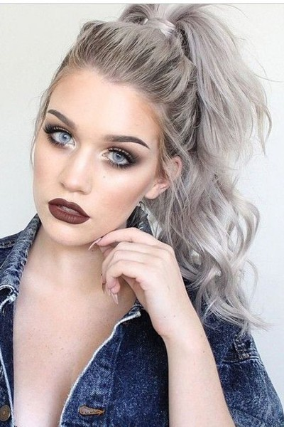 Silvery White Curls 21 Pinterest Looks That Will Convince You To