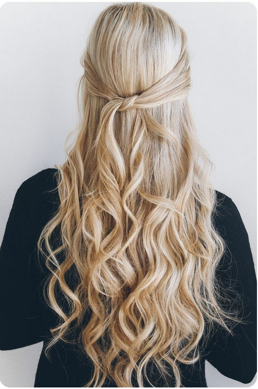 Image Result For Easy Hairstyle For Curly Hair Step By Step