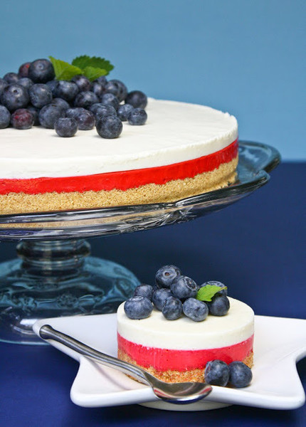 White Chocolate No-Bake Cheesecake